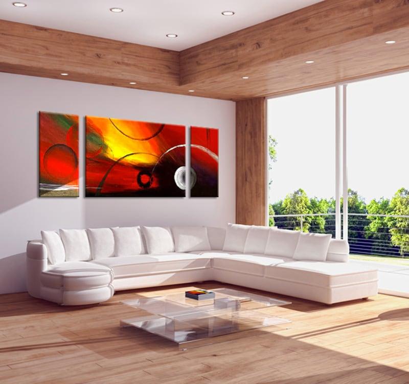 peinture abstraite galaxy