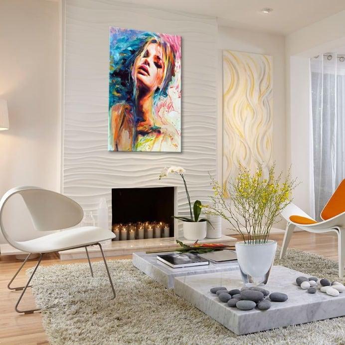 Tableau toile peinture abstraite et moderne pour votre déco murale