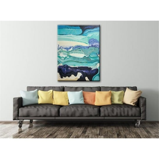 Bluora Abstract Painting for cool interior