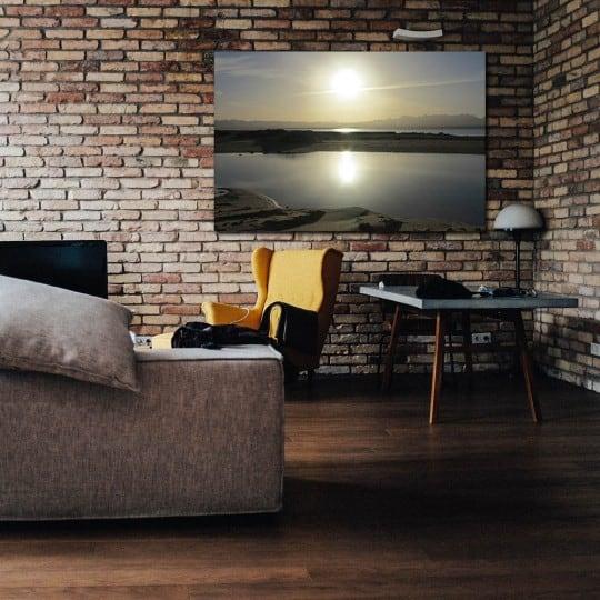 Photo d'art zen sur tableau aluminium pour votre intérieur