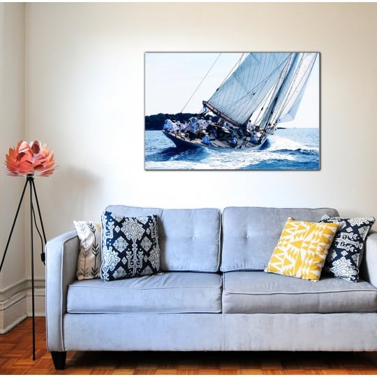 Seacrew modern art photo for a seaview wall decoration