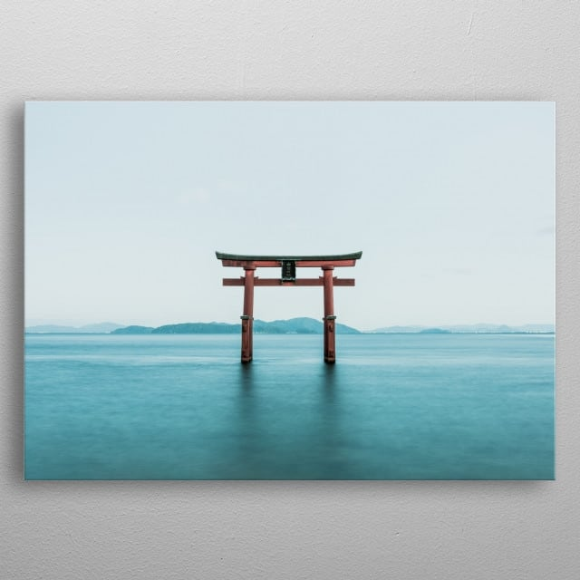 Zen metal poster for a unique interior with a brillant touch
