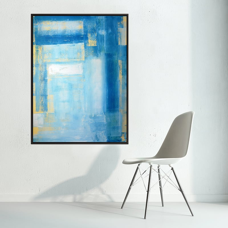 Scandinavian modern wall canvas for unique decoration