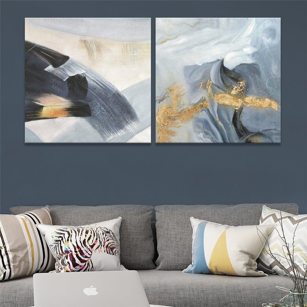 Sensation modern oil painting for trendy interior