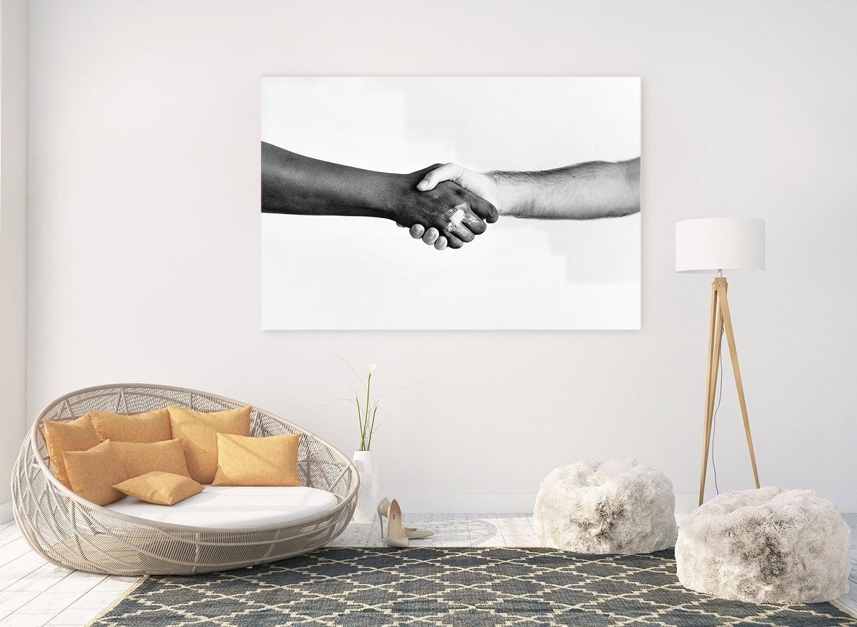 Symbol art photo on aluminium for interior