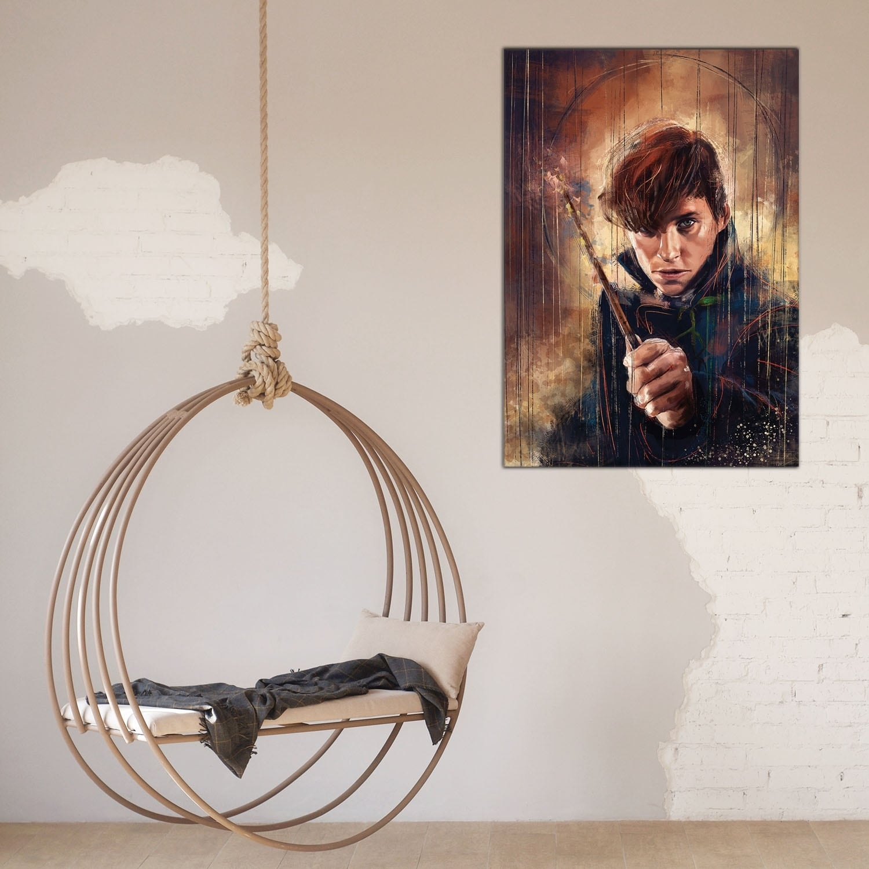Fantastic beasts decorative canvas for interior