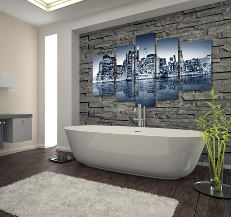 New-York Skyline decorative art print