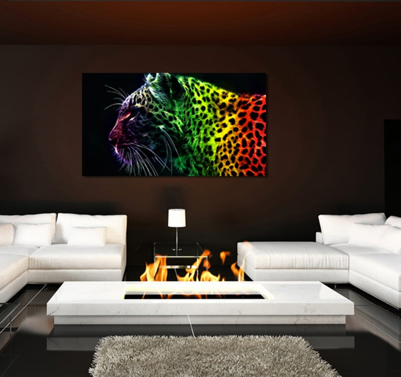 Tableau design color tiger - Tableau colore design ...
