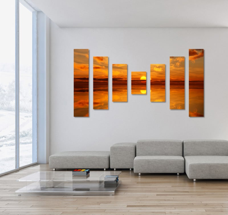 tableau design sky sunset