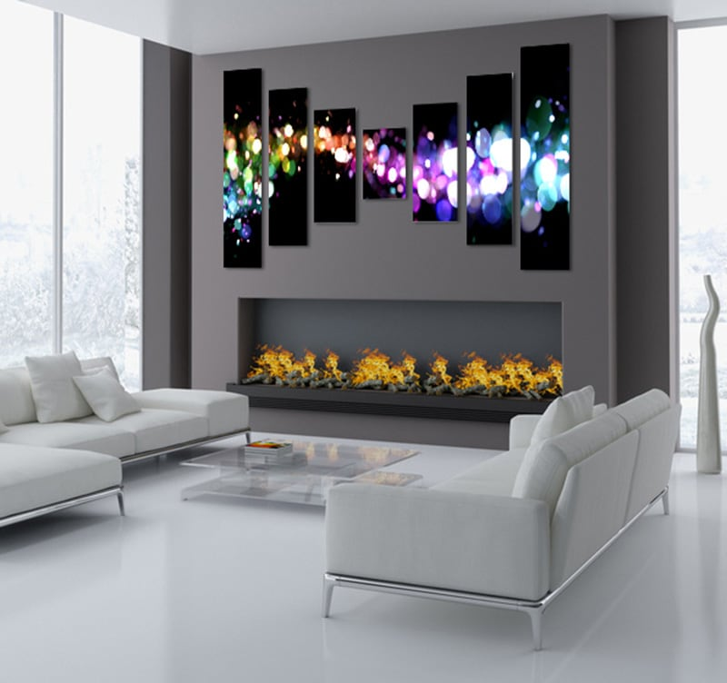 Tableau design stardust for Decoration interieur design pas cher