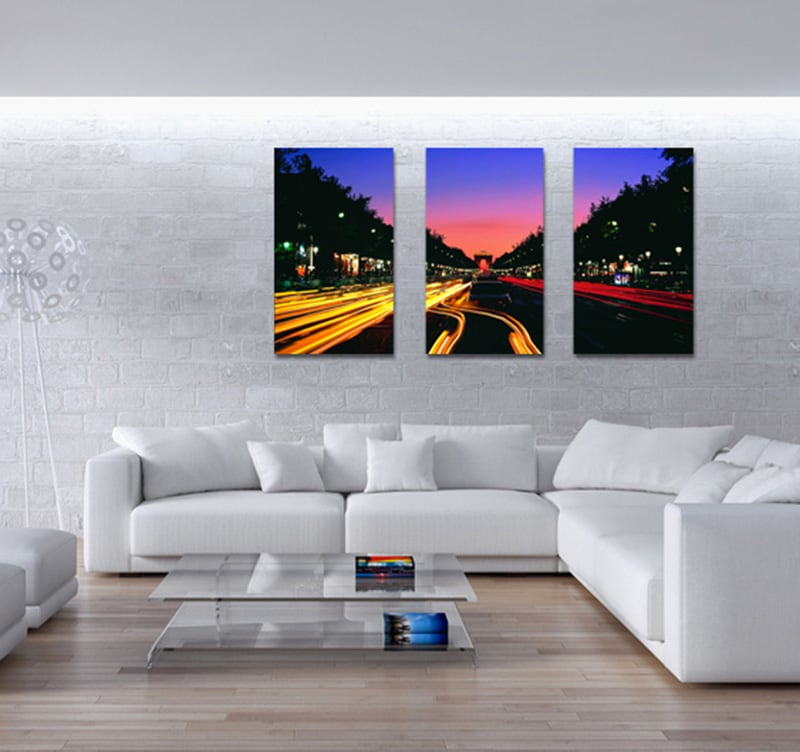 Paris Timelapse art print