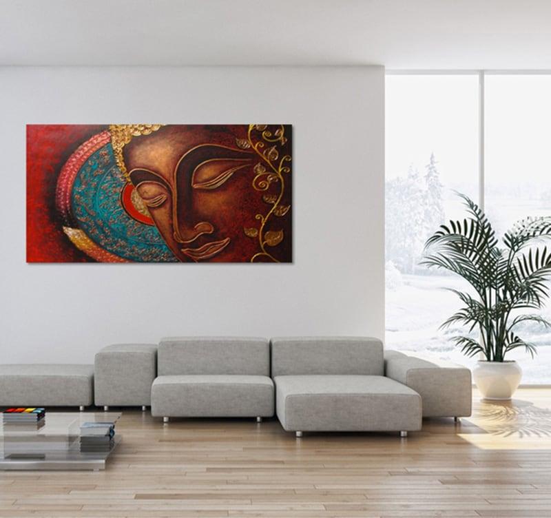 Tableau bouddha for Tableau exterieur