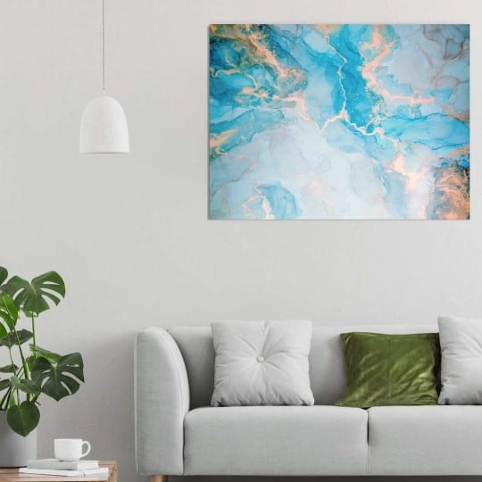 Tableau abstrait de ciel pour des couleurs tendances dans votre déco murale