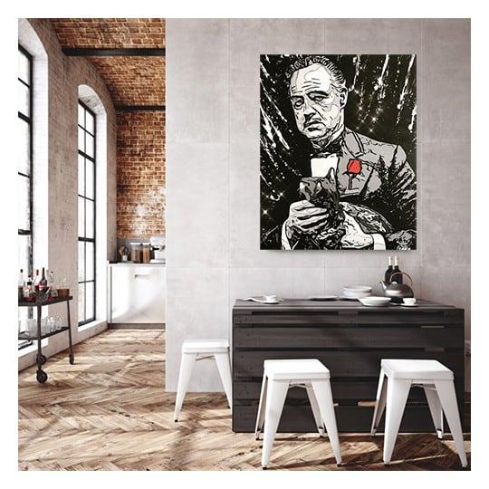 Corleone canvas art print from the artist Gab