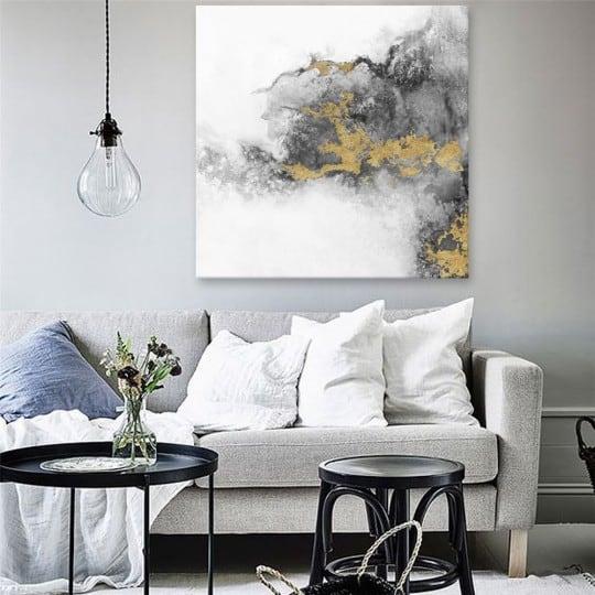 Toile peinture abstraite propagration pour un intérieur contemporain