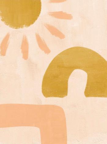 Tableau contemporain de soleil pour votre décoration murale d'intérieur
