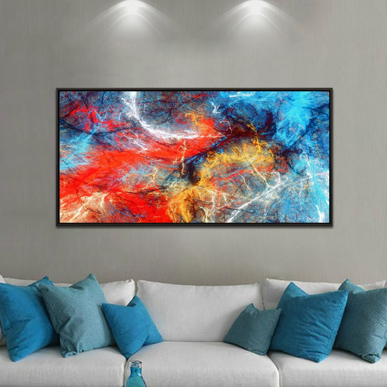 fusion Artwall and co canvas with an abstract touch