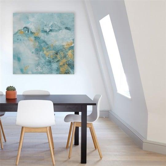Toile peinture moderne Bleuteis pour un intérieur stylé