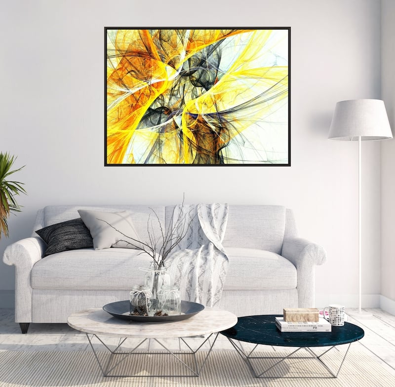 Modern abstract wall decoration canvas