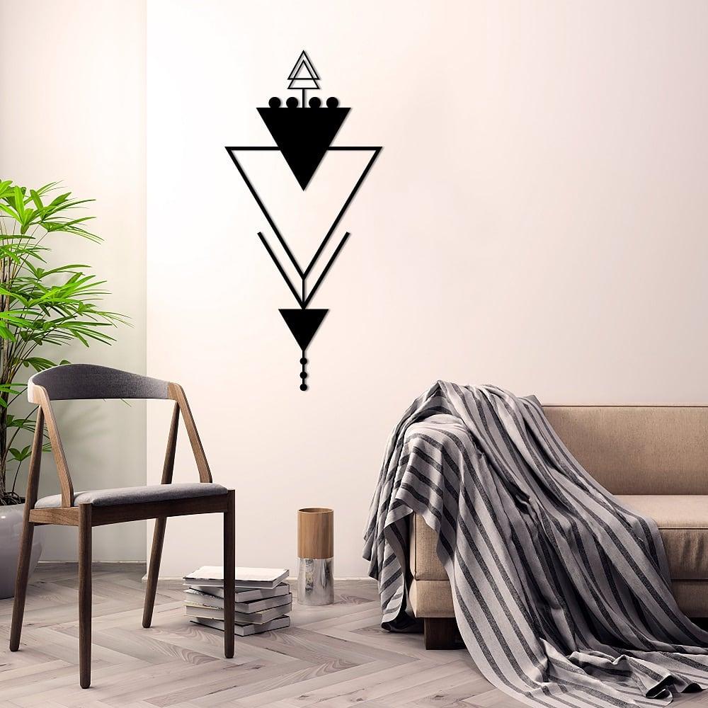 Tria metal boho decoration for a modern interior