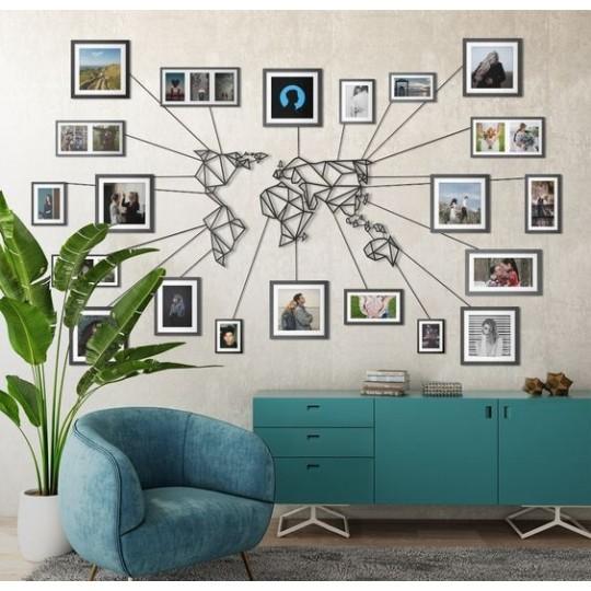 Pour salon 30 x 45 cm WERTQ Posters Pok/émon S chambre /à coucher Peinture d/écorative sur toile