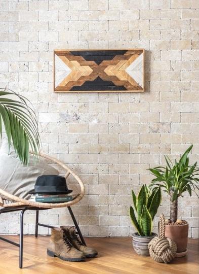 La déco murale en bois au style industriel