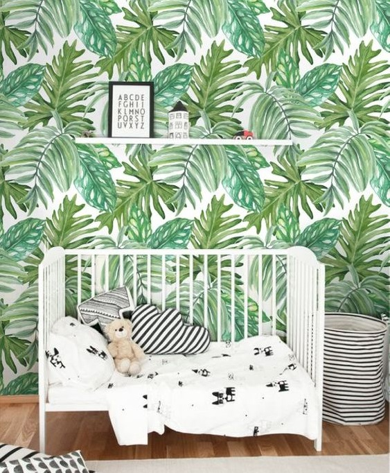The exotic theme in your wall decoration