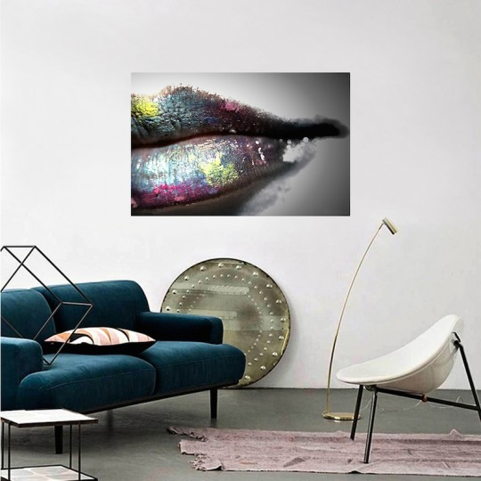 Glamorous style wall canvas