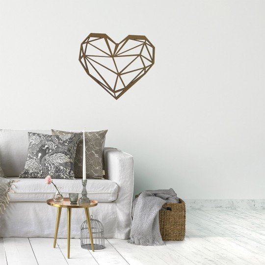 The glamorous style wall decoration