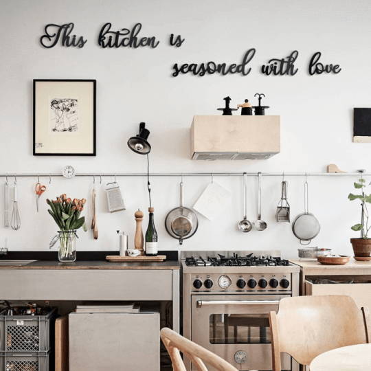 Wall deco for your kitchen