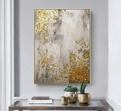 Tableau abstrait peinture pour couloir