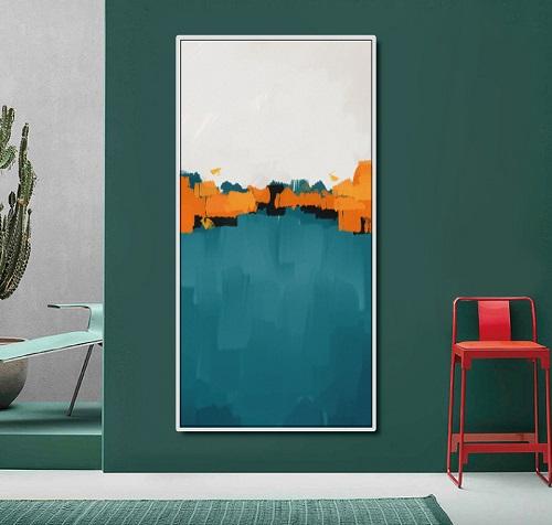 La toile moderne pour une déco de couloir