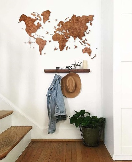 Wall decoration for entrance hall