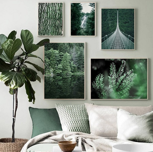 How to create a natural wall decoration