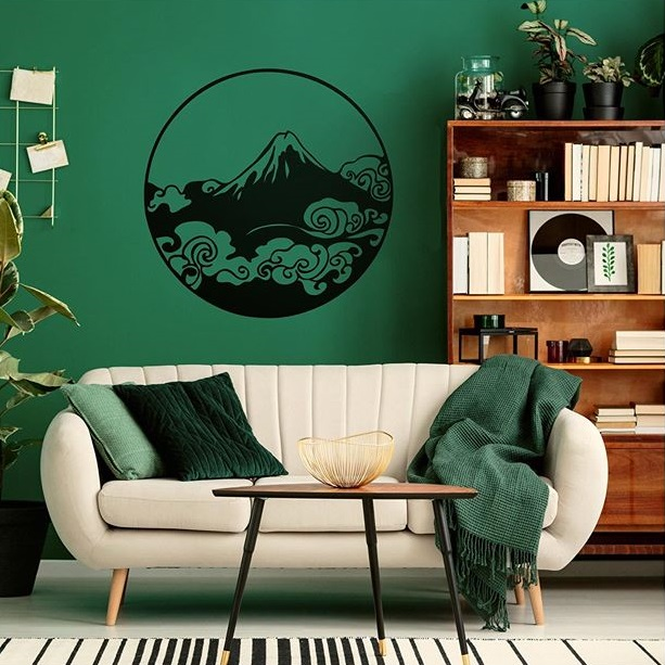 Nature wood wall decorations