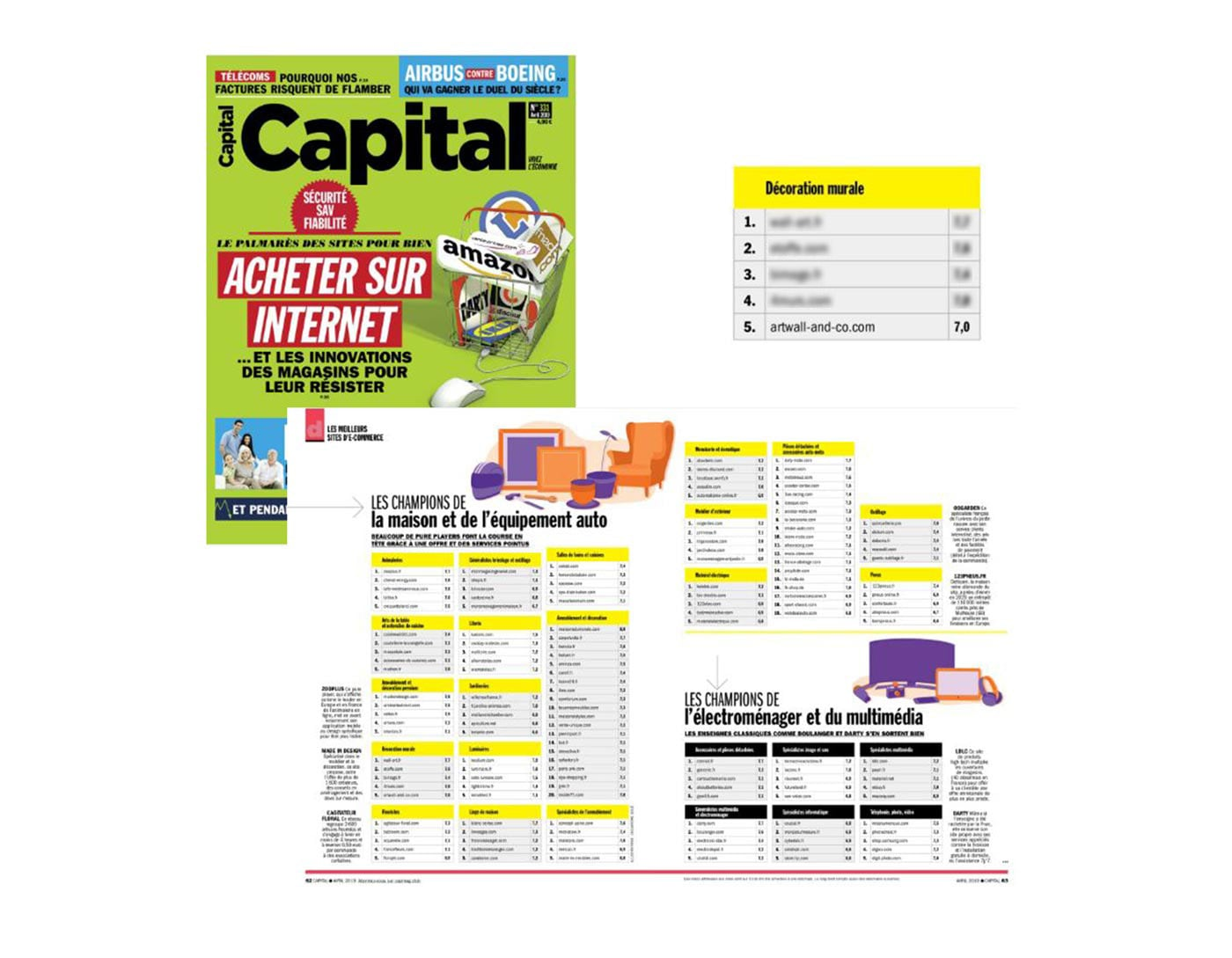 Artwall and co dans Capital Magazine