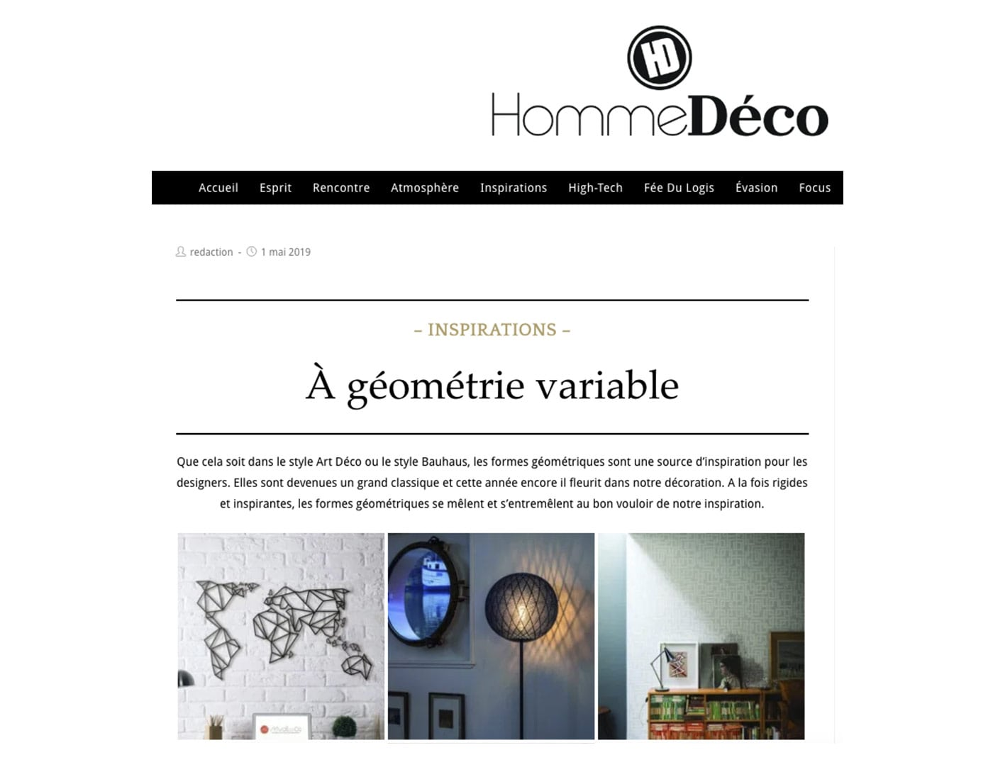 Artwall and co dans Hommedeco