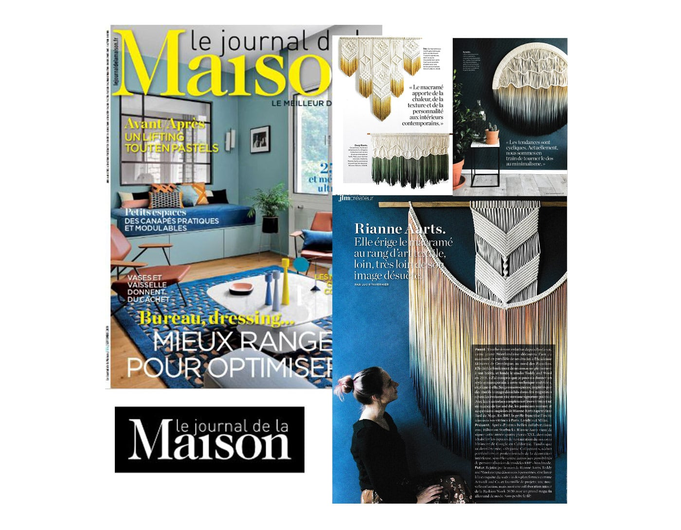 Artwall and co dans Le Journal de la Maison